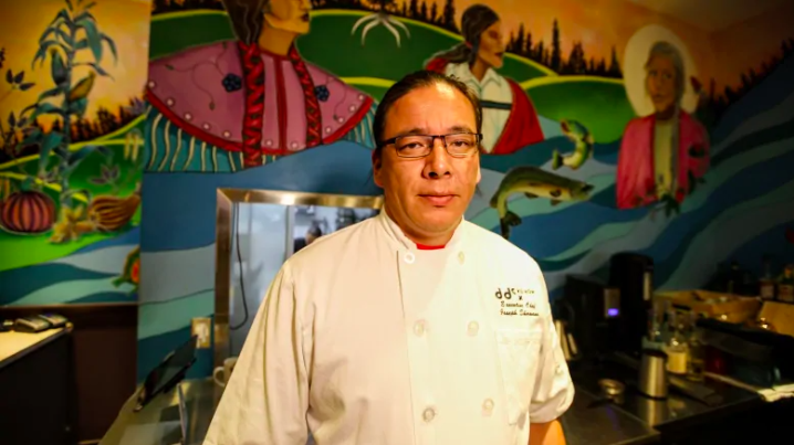 'Making sure that our food history isn't lost': Chef promotes Indigenous foods in virtual cook-off